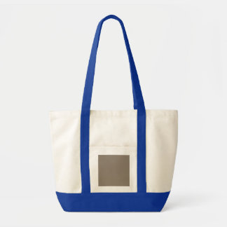 Mulch Brown in an English Country Garden Impulse Tote Bag