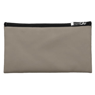Mulch Brown in an English Country Garden Cosmetic Bags