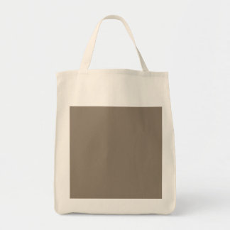 Mulch Brown in an English Country Garden Grocery Tote Bag
