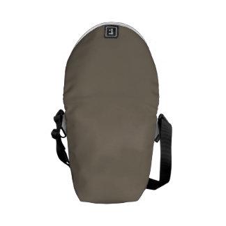Mulch Brown in an English Country Garden Messenger Bag