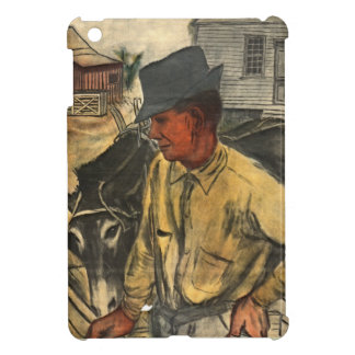 Mule and Plow 1935 iPad Mini Covers