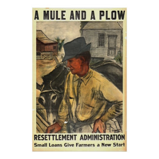 Mule and Plow 1935 Poster