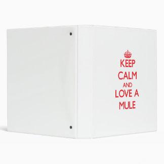Mule Vinyl Binder