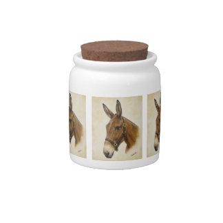Mule Candy Jar