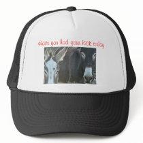 mule cap-customize trucker hat