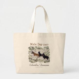 """""""Mule Day 2013 Columbia, Tenn."""" Tote Bag"""