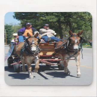 mule day parade mousepad
