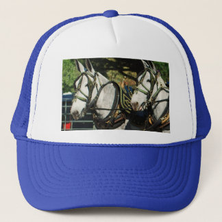 mule day parade trucker hat