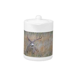 Mule deer 15 teapot