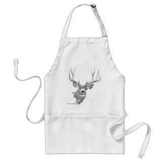 Mule Deer Adult Apron