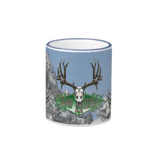 mule deer bow hunter ringer mug