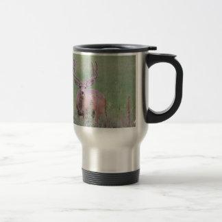Mule Deer Buck Travel Mug