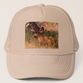 Mule Deer Doe Trucker Hat