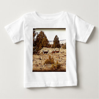 Mule Deer Does Baby T-Shirt