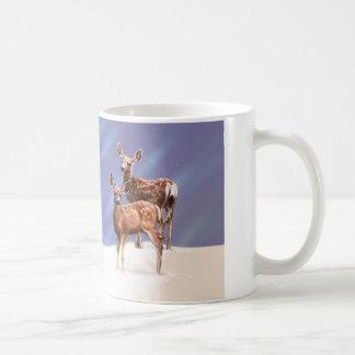 Mule Deer Fawns Coffee Mug
