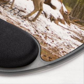 Mule Deer Gel Mouse Pad