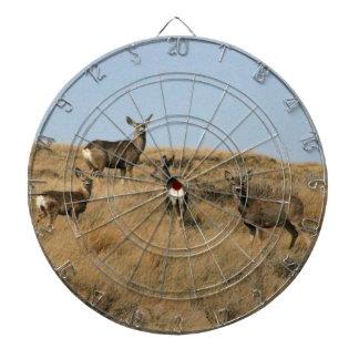 Mule Deer in South Dakota Dartboard