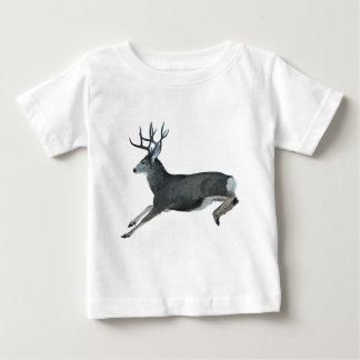 Mule deer motion baby T-Shirt