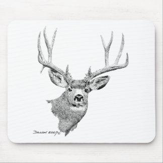 Mule Deer Mouse Pads