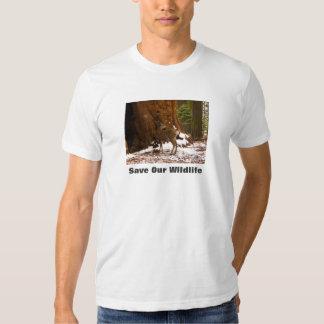 Mule Deer Save Our Wildlife T-shirt