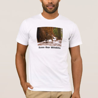 Mule Deer Save Our Wildlife T-Shirt