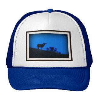 Mule Deer Sillouette Trucker Hat