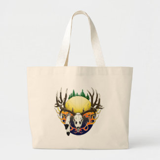 Mule Deer skull Bag
