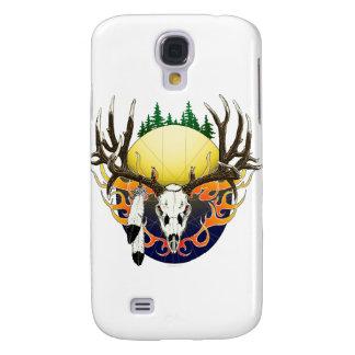 Mule Deer skull Samsung Galaxy S4 Cases