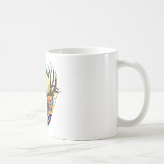 Mule Deer skull Coffee Mug