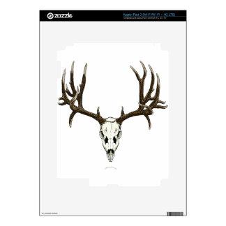 Mule deer skull decals for iPad 3