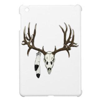 Mule deer skull eagle feather cover for the iPad mini
