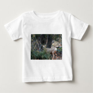 Mule deer spur buck baby T-Shirt