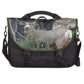 Mule deer spur buck commuter bags