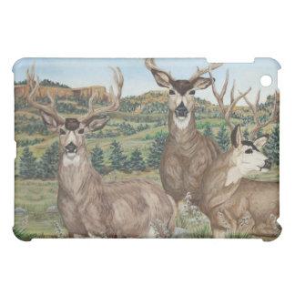 Mule Deer Wildlife Art iPad Mini Cover