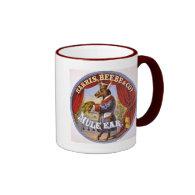 Mule Ear Tobacco Ad Vintage 1868 Coffee Mugs