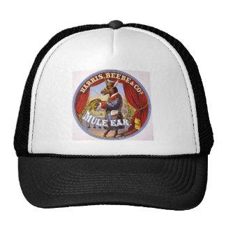 Mule Ear Tobacco Ad Vintage 1868 Trucker Hat