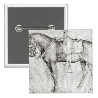 Mule, from the Vallardi Album Button