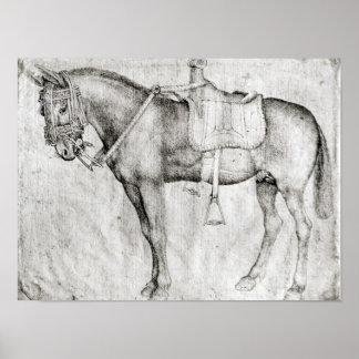 Mule, from the Vallardi Album Poster