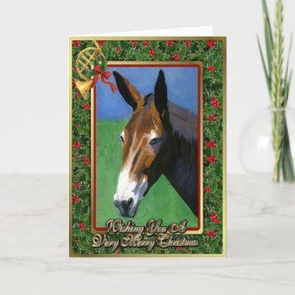 Mule Art Christmas Cards