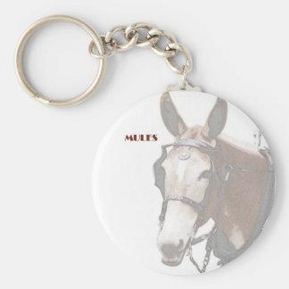 Mule Key Chain
