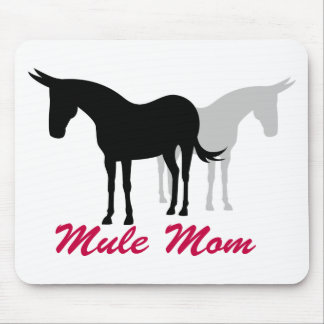 Mule Mom Mouse Pad