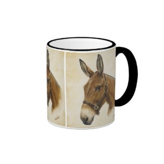 Mule Western Mug in Black