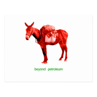 mule postcard