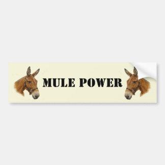 Mule Power Bumper Sticker