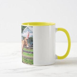 mule ridden western pleasure mug