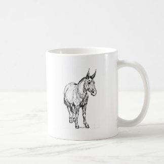 Mule Simple Sketch Coffee Mug