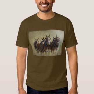 Mule Train Tshirts