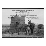 Mules, I know business is bad Frank, but if you... Large Business Cards (Pack Of 100)