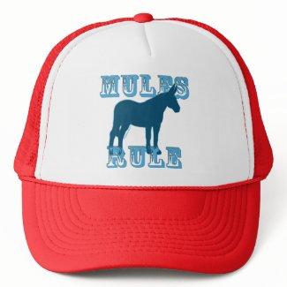 Mules Rule hat