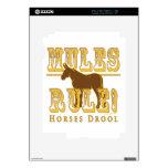Mules Rule Horses Drool 2 Skin For The iPad 2